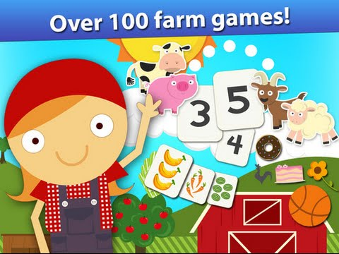 Animal Pre K Early Math Games for Kids with Skills - Youtube Reviews Apps For Kids