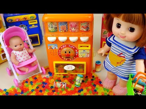 Thumbnail: Baby Doli Vending machine toys with orbeez eggs baby doll play