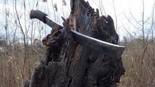 рубка. Тест ножа - меча.