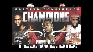 "MIAMI HEAT NEW SONG ""CHAMPION"" 2013"