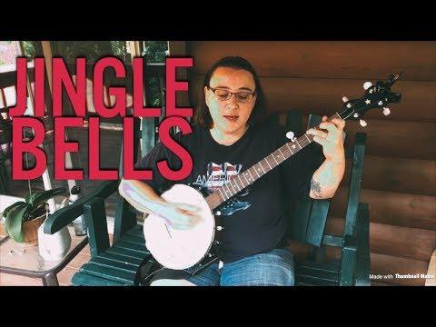 Jingle Bells clawhammer banjo lessons
