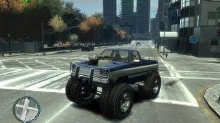 GTA IV: hoe krijgen we een monster truck - (GTA IV monster truck)