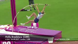 Holly Bradshaw (GBR) - 4.65m at World Championships London 2017