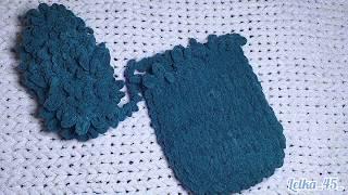 Подушка для беременных и не только из плюшевой пряжи