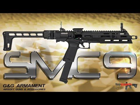 [Review] G&G SMC9 GBB Test (auch für GTP9) inkl. Demontage, HopUp 6mm Airsoft/Softair (German,DE)
