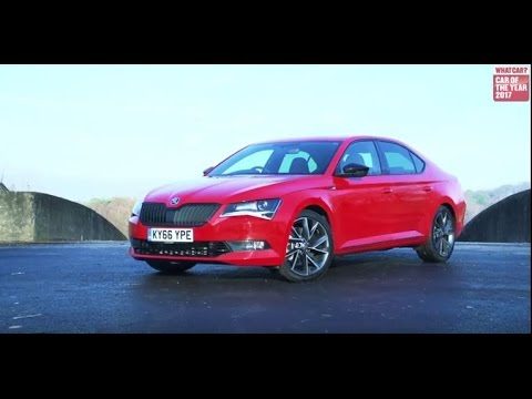 ŠKODA Superb – What Car? 2017 'Best executive car less than £25,000'