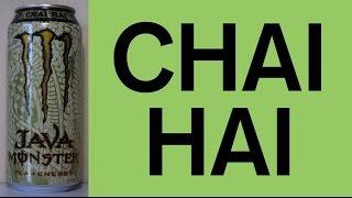 (6) SPECIAL: CHAI HAI Java Monster Taste Review