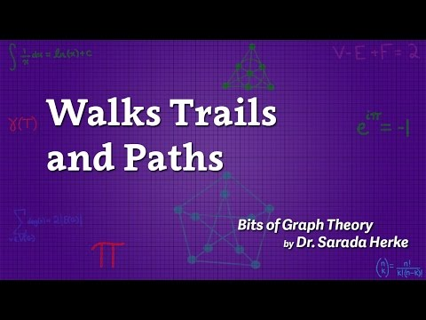 Graph Theory: 16. Walks Trails and Paths