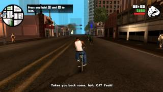 Grand Theft Auto: San Andreas (Windows App on PC) [Gameplay]