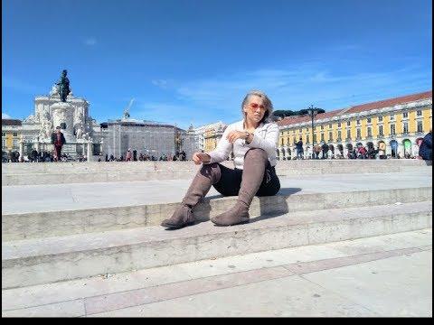 Vlog Lisboa: Praça do comércio - Bairro Alto - 100 Montaditos