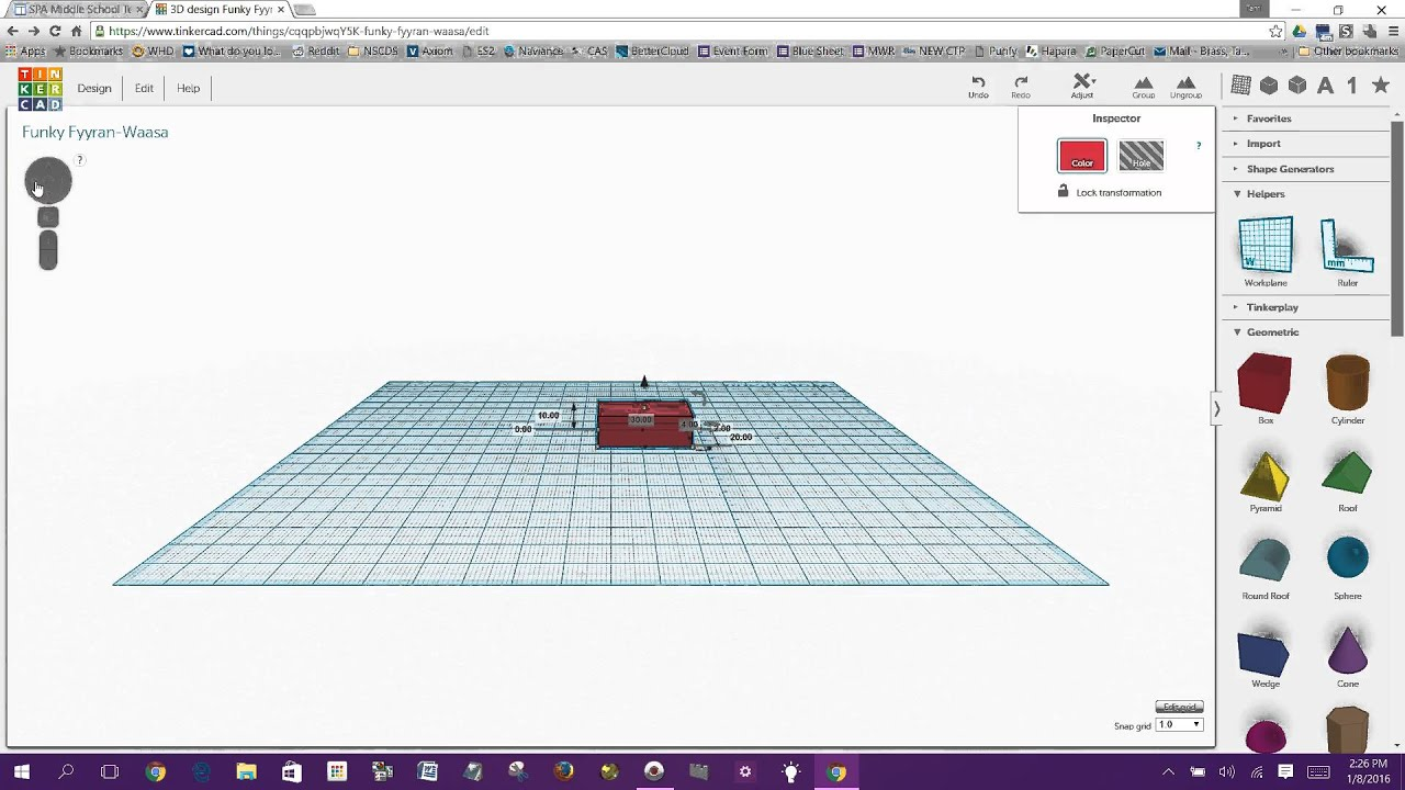 Getting Started With Tinkercad Youtube