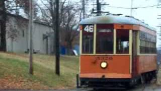 Vintage 1923 Trolley Film Arriving At the Washington PA Station