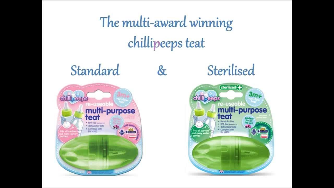 Perlengkapan Bayi Chillipeeps Teat Adapter Dot Multifungsi