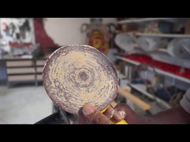 Как быстро и эффективно очистить наждачный круг или шлифовальную ленту.