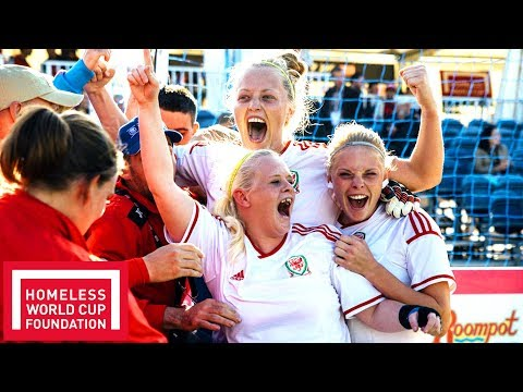 Wales' Women Win the Homeless World Cup Plate 2015! | Throwback