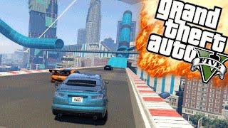NIEUWE RACE MAPS! - GTA 5 Online Funny Moments