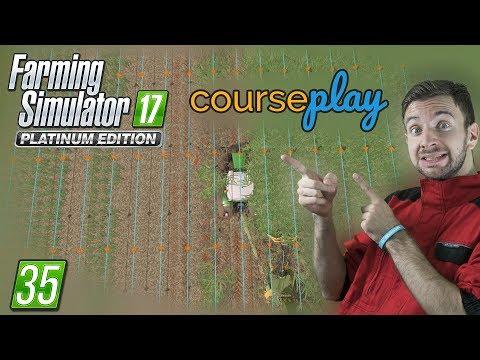 COURSEPLAY MOD V AKCI! | Farming Simulator 17 #35