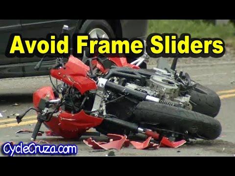 Avoid Frame Sliders - Motorcycle Totaled - YouTube