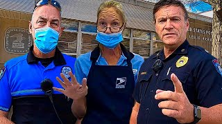 (GIVE ME ID) BEST I.D. REFUSAL - COPS OWNED! First Amendment Audit - Freedom News Now
