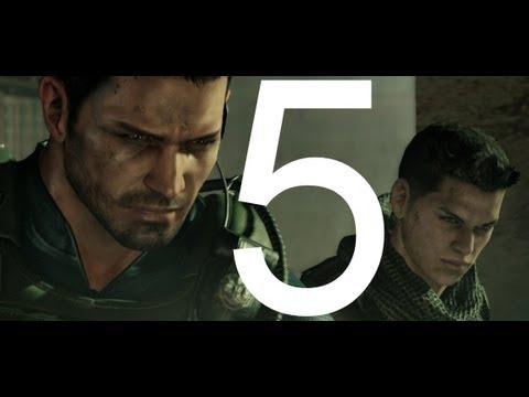 Прохождение Resident Evil 6 PC - Компания Крис - Глава 5 | ENDING