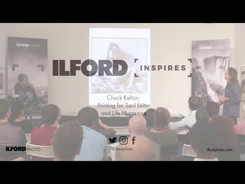 ILFORD Inspires - Chuck Kelton - Printing for Saul Leiter and Life Magazine