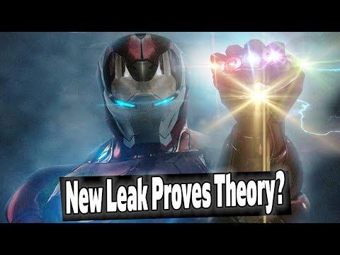 NEW Avengers Endgame Leak Hints at Avengers Infinity Gauntlet