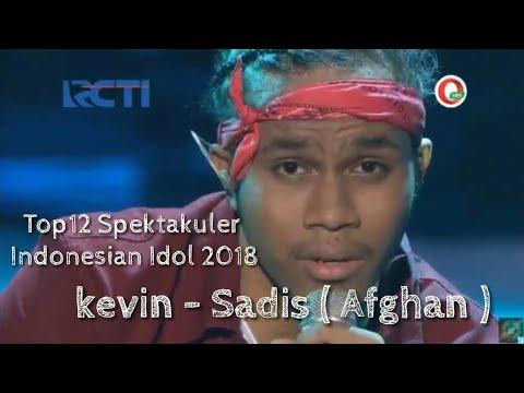 Free Download Kevin - Sadis ( Afgan ) - Top12 Spektakuler - Indonesian Idol 2018 Mp3 dan Mp4