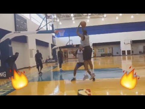 Paul George and Carmelo Anthony 1v1 in Practice !!
