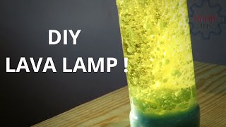 How To Make A Lava Lamp At Home
