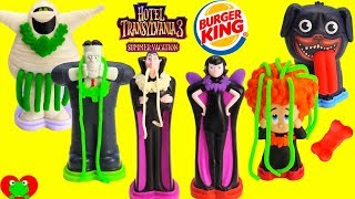 2018 Hotel Transylvania 3 Burger King Jr Fast Food Toys