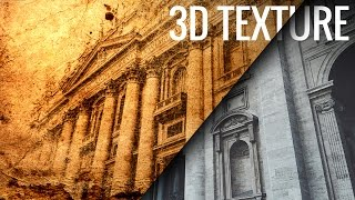 Using 3D to Create Old Paper Texture in Photoshop
