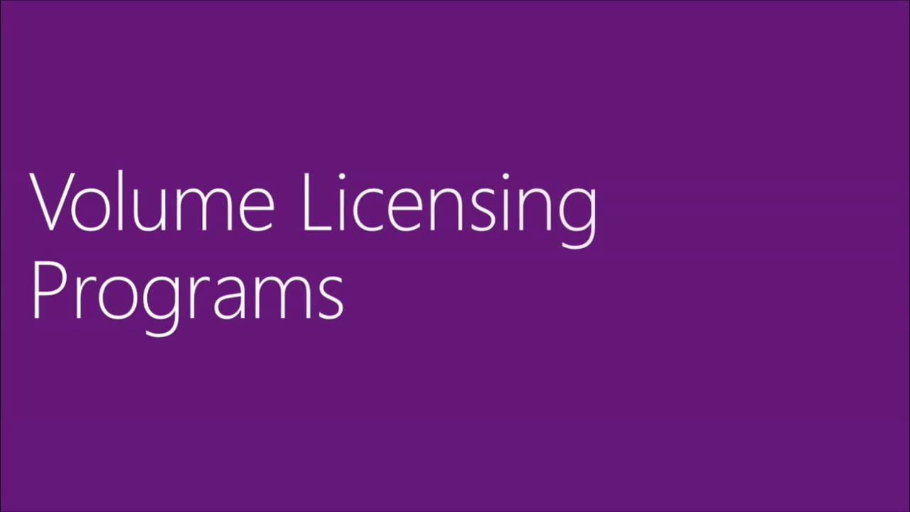 Microsoft Licensing A Guide To Beginers Youtube