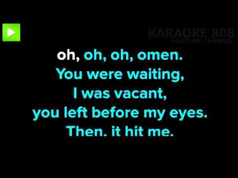 Omen ~ Disclosure, ft  Sam Smith Karaoke Version ~ Karaoke 808