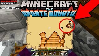 A NOVA MISSÃO AQUATICA NO MINECRAFT POCKET EDITION ! SURVIVAL EM DUPLA AQUATICO