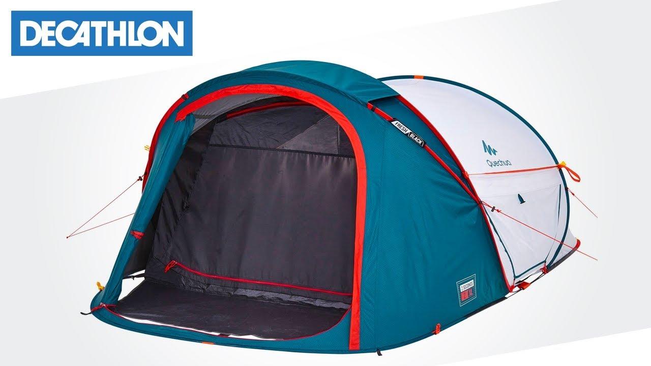 d0c19ef45 Come montare la tenda da campeggio 2 Seconds 2XL Fresh   Black ...