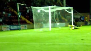 Jack King penalty against Hampton & Richmond (16/08/11)