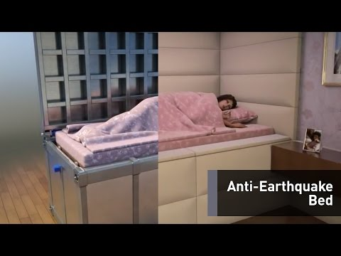 This Bed Might Just Save Your Life During An Earthquake
