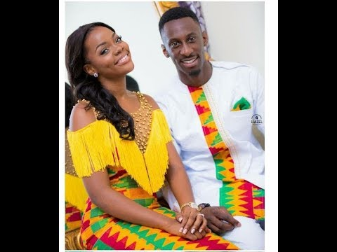 Ghana Wedding Ghanaian Traditional Dresses Kente Styles Culture