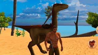 Jurassic Survival Island Dinosaurs & Craft clone ARK! выживание на острове! игры на андроид!