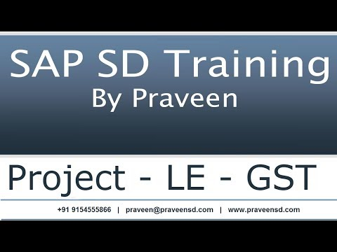 SAP SD Interview Questions 1 - SAP SD Training By Praveen - YouTube