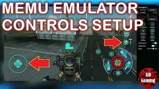 war Robots - How To Set Up Controls On Memu Emulator - Tutorial