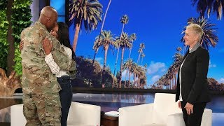 Download Ellen Stages a Sweet Mother's Day Military Reunion Mp3 and Videos