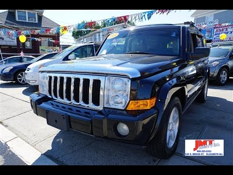 2007 Jeep Commander Limited Review