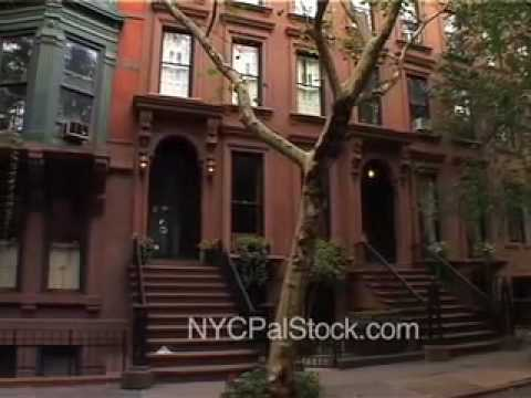 Brooklyn heights brownstone houses pan nyc pal stock for Buy house in brooklyn