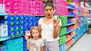 Klai & Rykel take their sisters Shopping for puberty KITS!
