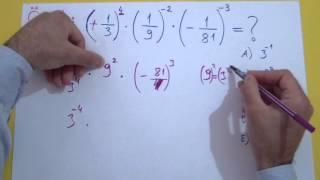 Üslü Sayılar 2 Şenol Hoca Matematik