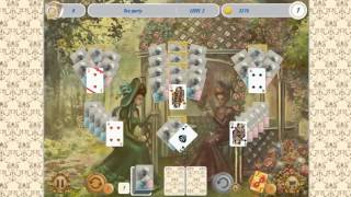 Solitaire Victorian Picnic (Gameplay)