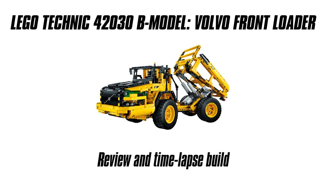 lego technic 42030 b model build review volvo. Black Bedroom Furniture Sets. Home Design Ideas