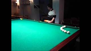 Бильярдные трюки Армена Матевосяна