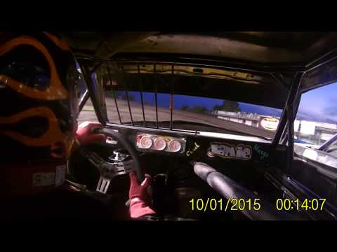 Adam's car cam Boone Speedway heat race 8/12/17